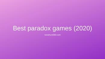 best paradox games