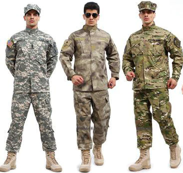 Combat Uniforms in the US Military