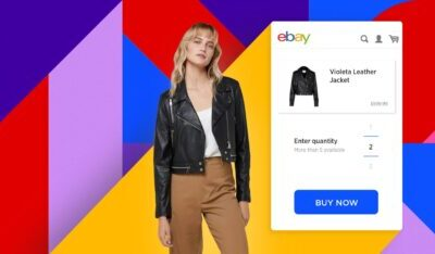 Websites for the online sale of different products
