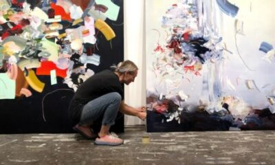 Staging 'Moments': Janna Watson on Abstract art, Rugs, and Cats