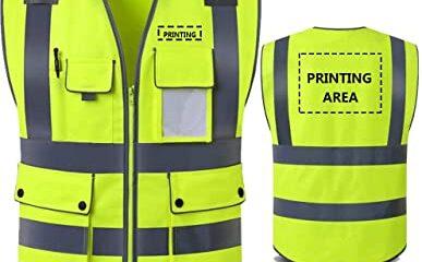 Buy Custom Safety Vest