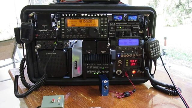 use a ham radio on the go