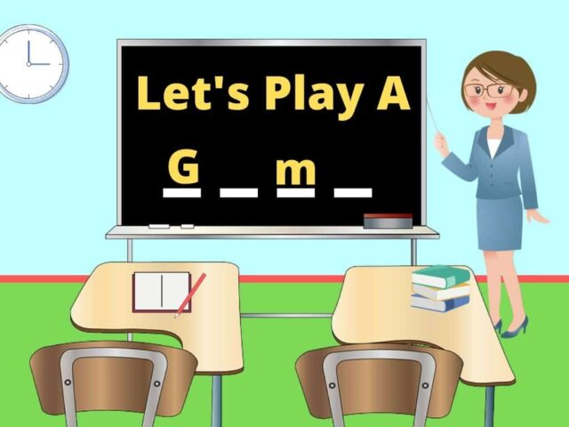 Teach Vocabulary with Games