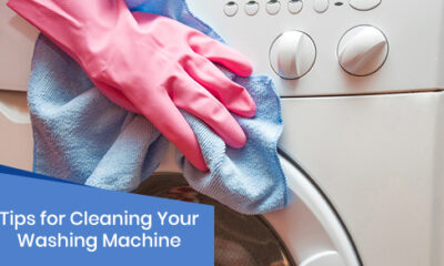 Cleaning tips for your washing machine