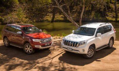 Toyota Prado vs Ford Everest