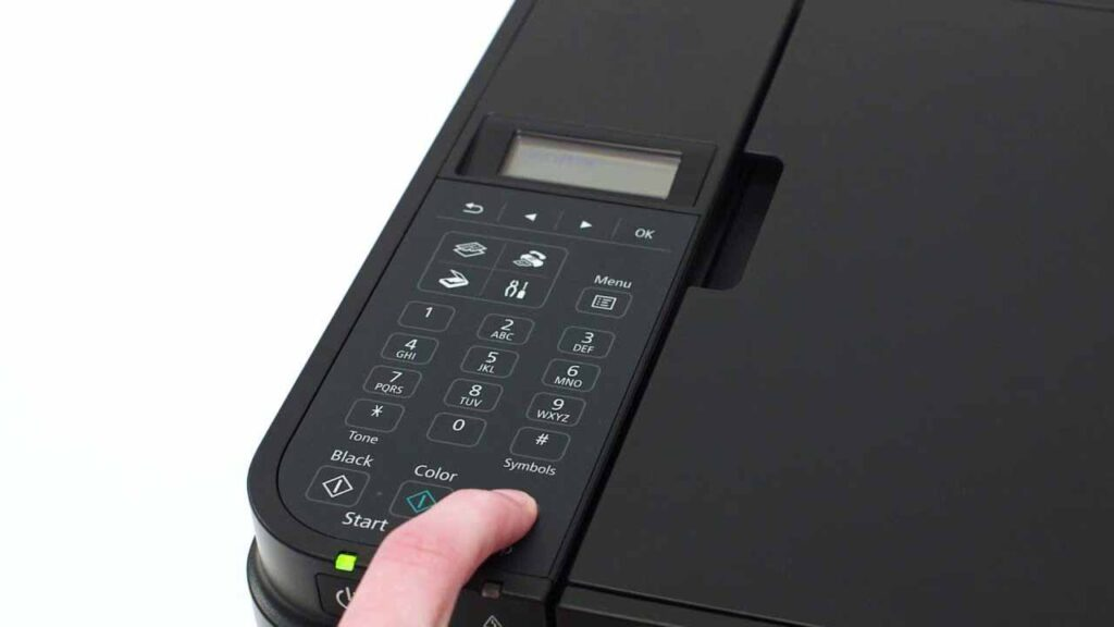 What is the WPS Button on a Canon Printer