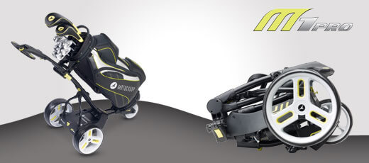 Which electric golf trolley folds the smallest?