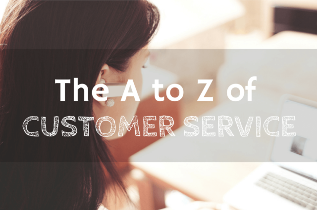 Outsourced customer service team from A to Z