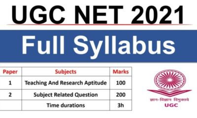 UGC NET 2021 Exam