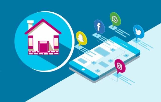How to grow a real estate company through social media marketing