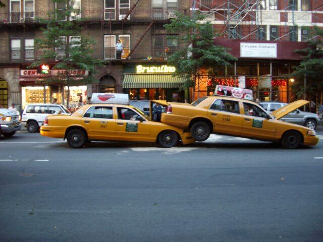 taxi cab accident
