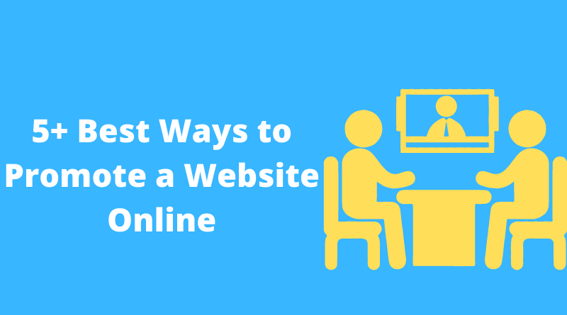 Best Ways to Promote a Website Online