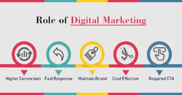 role in Digital marketing