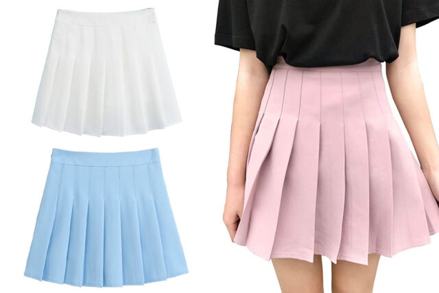 tennis skirts with pockets