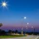 Innovative composite lighting columns