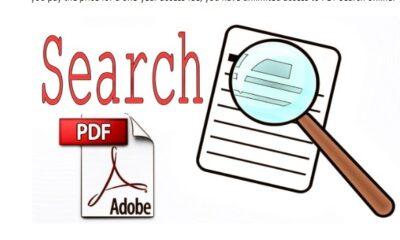 PDF Search Engine