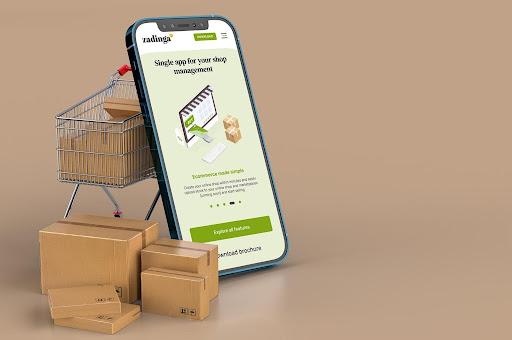 Retail shop management system app - Zadinga