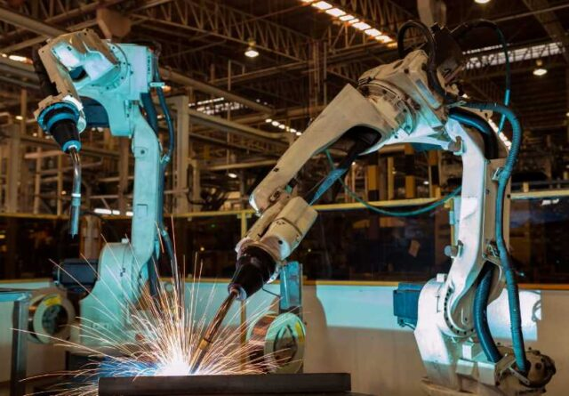 Using Robots in Manufacturing
