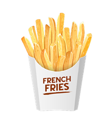 french fries packs