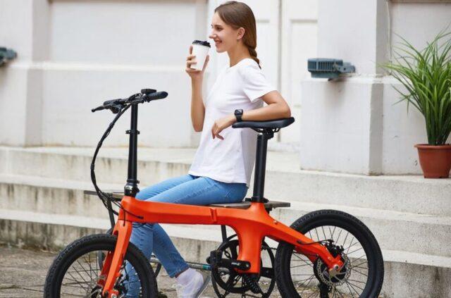carbon Fiber folding electric bike